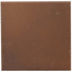 Flame Brown 150x150x12mm (6×6″) Round Edge Quarry Tile
