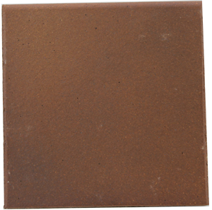 "Flame Brown 150x150x12mm (6x6"") Round Edge Quarry Tile"