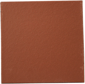 "Flame Red 150 x 150 x 12mm (6x6"") Plain Quarry Tile"