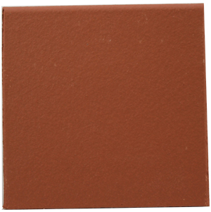 "Flame Red 150x150x12mm (6x6"") Round Edge Quarry Tile"