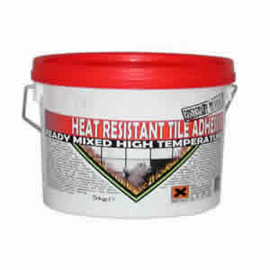 Heat Resistant Tile Adhesive & Grout
