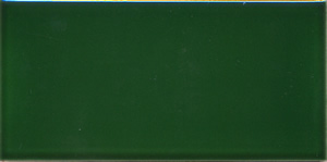 "Victorian Green 152x76x9mm (6x3"") Plain Tile"