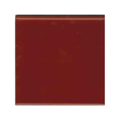 Burgundy Round Edge Tile