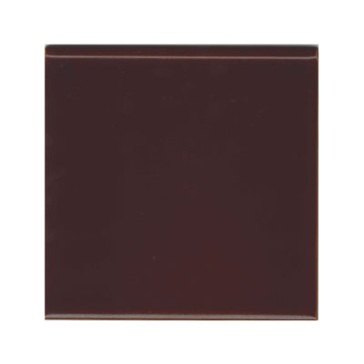 Teapot Brown Round Edge Tile