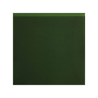 Victorian Green Round Edge Tile