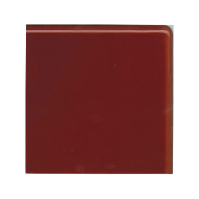 Burgundy Double Round Edge Corner Tile