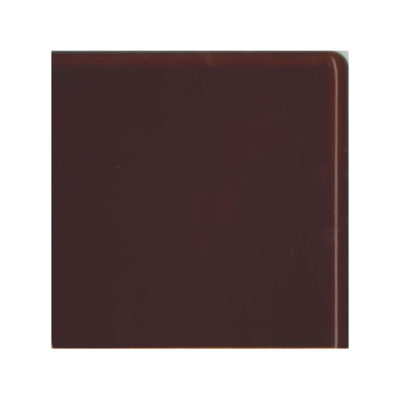 Teapot Brown Double Round Edge Corner Tile