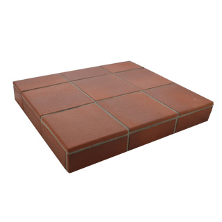 Flame Red Quarry Tiles
