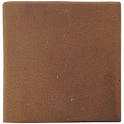 Flame Brown 150x150x12mm (6×6″) Double Round Edge Quarry Tile