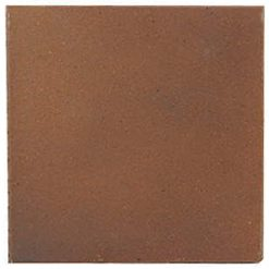 Flame Brown 150x150x12mm (6×6″) Plain Quarry Tile