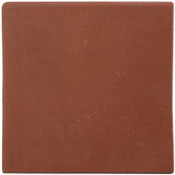Flame Red 150x150x12mm (6×6″) Double Round Edge Quarry Tile