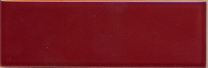 "Burgundy 152x50x9mm (6x2"") Plain Tile"