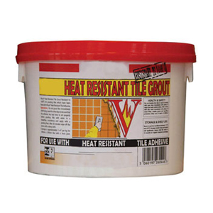 Heat Resistant Tile Grout 2.5kg