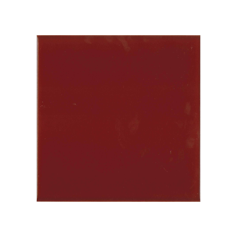 "Burgundy 152x152x9mm (6x6"") Plain Tile | FireTile Ltd, UK"
