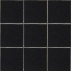 Mesh Mounted Black Tiles