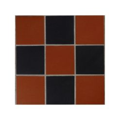 Brick Red and Black Panel Type-A