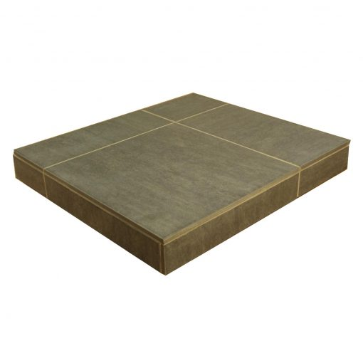 Portland Charcoal Porcelain Fireplace Tile