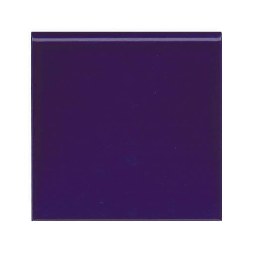 Victorian Blue Round Edge Tile