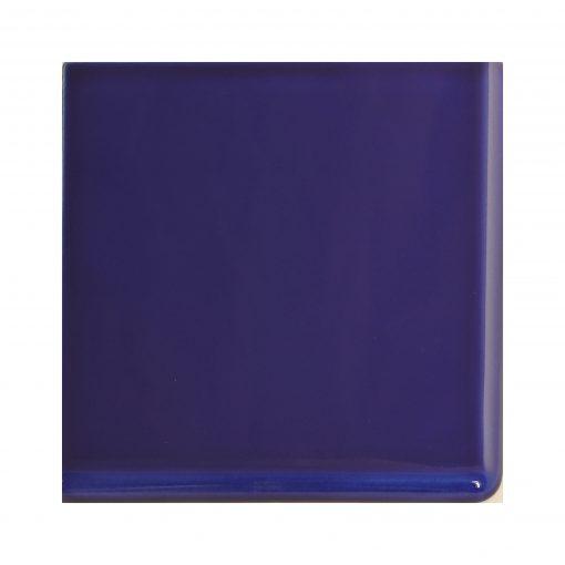 Victorian Blue Double Round Edge Corner Tile