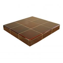 Teapot Brown Fireplace Tiles