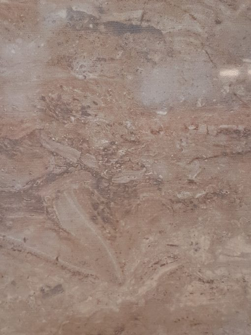 Travertino Brown Marble Tile 20x50cm