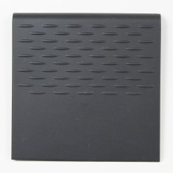 Black Non Slip Porcelain Floor Tile 146x146x8mm Step Tread