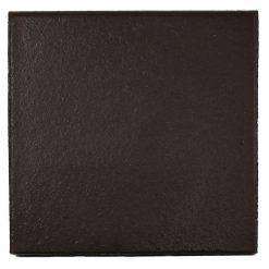 Round Edge Black Quarry Tile 150x150x12mm