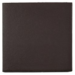 Plain Black Quarry Tile 150x150x12mm