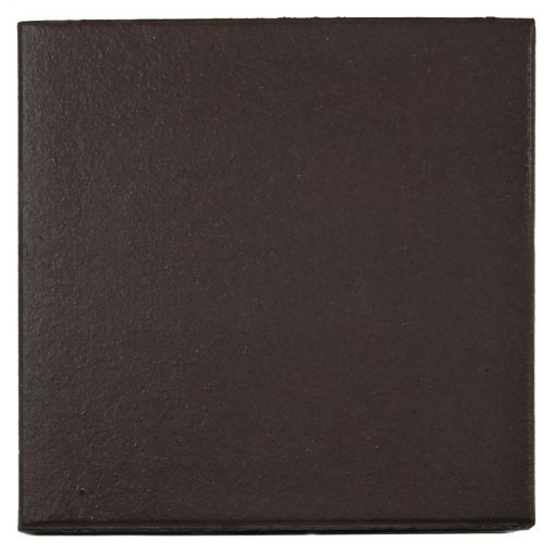Plain Black Quarry Tile 150x150x12mm