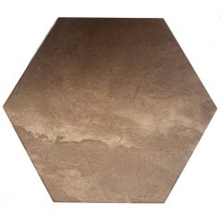 Brown Hexagon Tiles