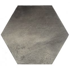 Dark Grey Hexagon Tiles