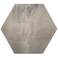 Light Grey Hexagon Tiles
