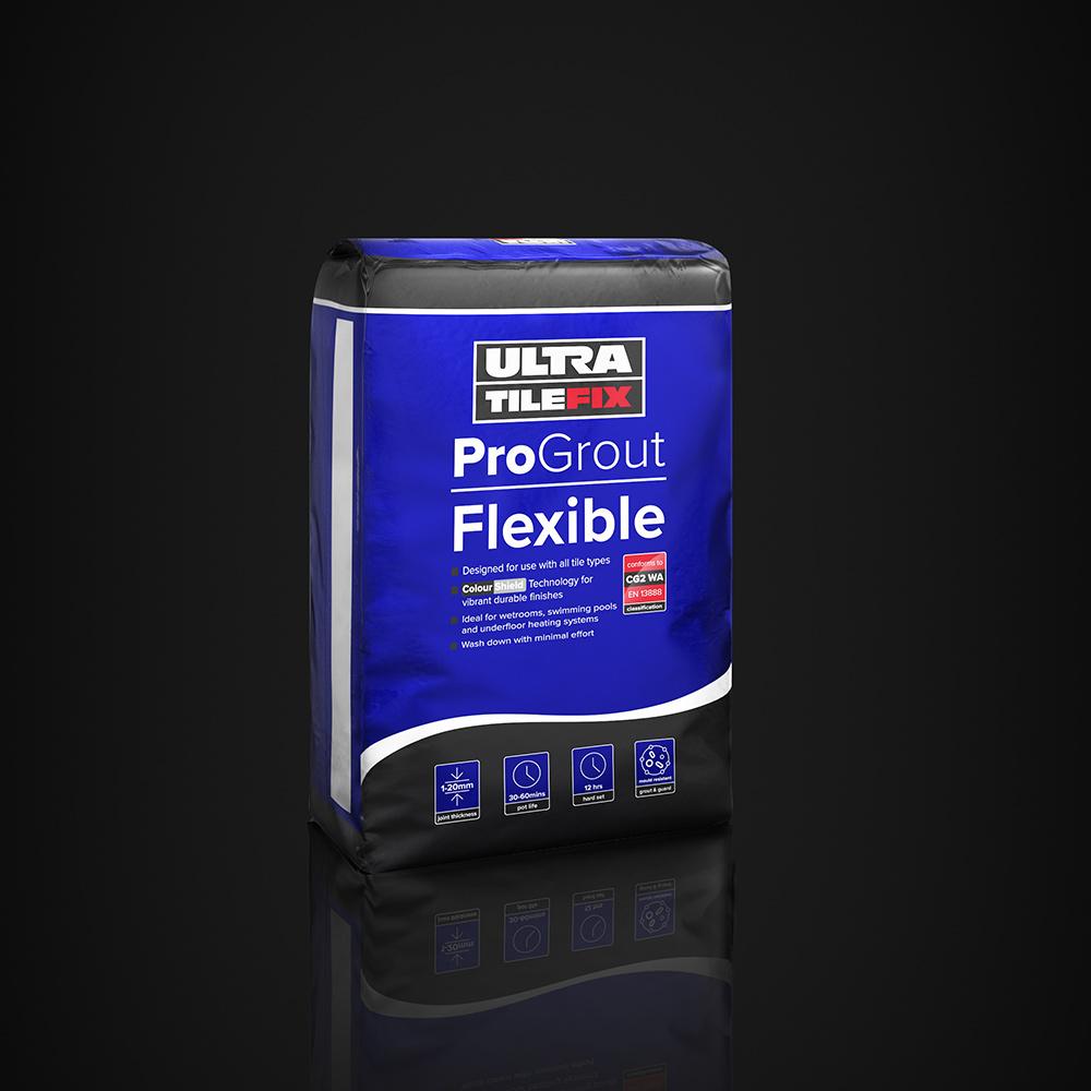 Ultratilefix Progrout Flexible 3kg Firetile Ltd