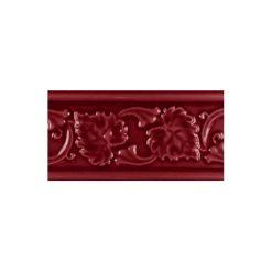 """Burgundy Leaf 6""""x3"""" Moulding"""