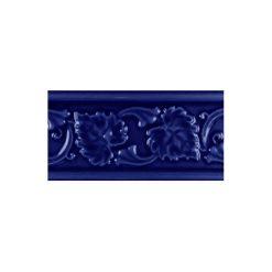 """Victorian Blue Leaf 6""""x3"""" Moulding"""
