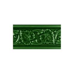 "Victorian Green Leaf 6""x3"" Moulding"