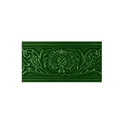"Victorian Green Thistle 6""x3"" Moulding"