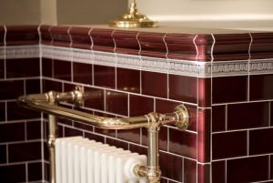 Burgundy Victorian Wall Tiles