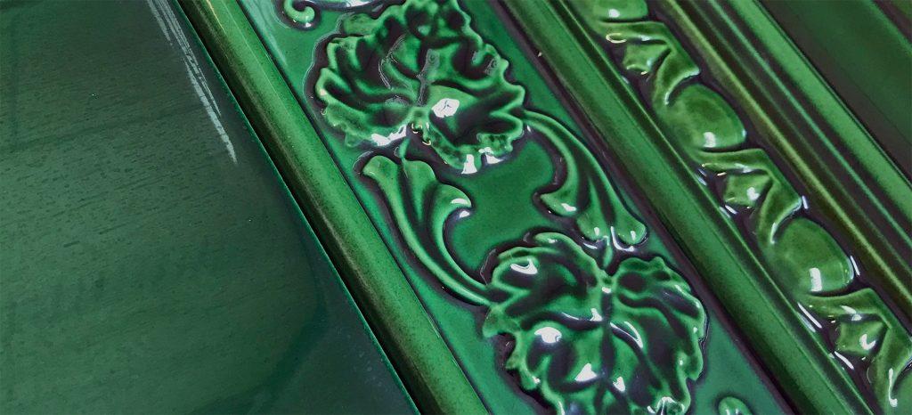Victorian Green Wall Tiles