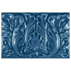 "Bluebell Floral 9""x6"" Tile"