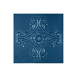"""Bluebell Medallion 6""""x6"""" Tile"""