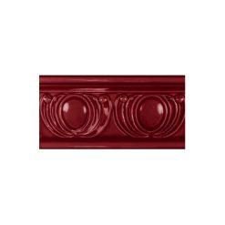 "Burgundy Royal Garland Dado 6""x3"" Wall Tile"