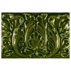 """Jade Floral 9""""x6"""" Tile"""