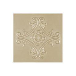 "Magnolia Medallion 6""x6"" Tile"