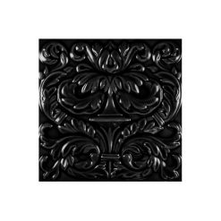 "Victorian Black Imperial 6""x6"" Tile"