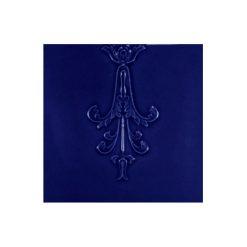 "Victorian Blue Minor Pendant 6""x6"" Tile"