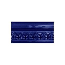 "Victorian Blue Wheat Sheaf 6""x3"" Wall Tile"