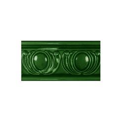 "Victorian Green Royal Garland Dado 6""x3"" Wall Tile"