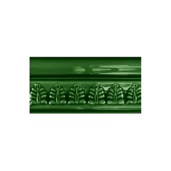 "Victorian Green Wheat Sheaf 6""x3"" Wall Tile"