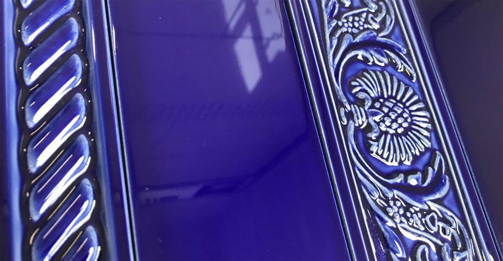 Victorian Blue Wall Tiles